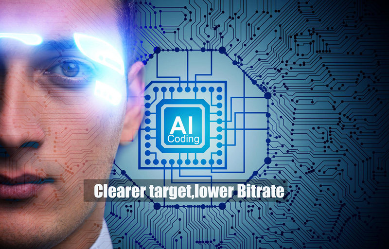 Clearer Target, Lower Bitrate AI Coding saves 50% bandwidth and storage costs