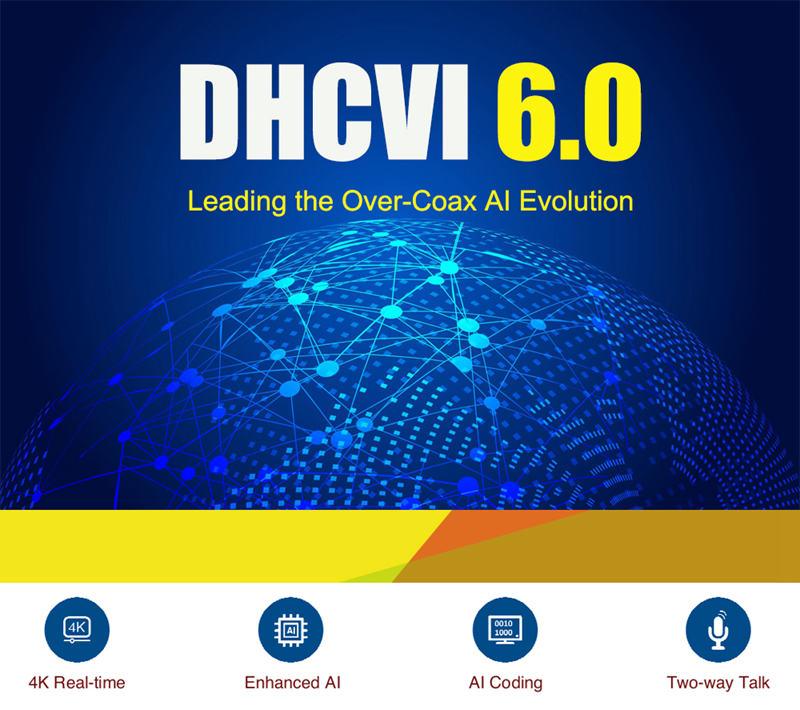 HDCVI 6.0 Leading the Over-Coax AI Evolution