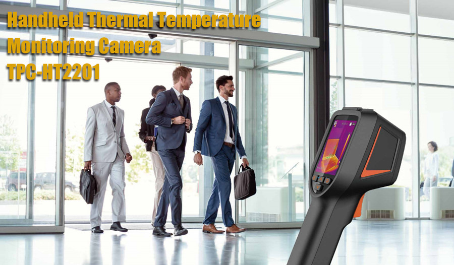 Handheld Thermal Temperature Monitoring Camera allows non-contact and rapid temperature monitoring, and offers no risk for frontliners. It can be conveniently deployed in public places, and can be used for efficient and safe preliminary monitoring of temperature anomalies.