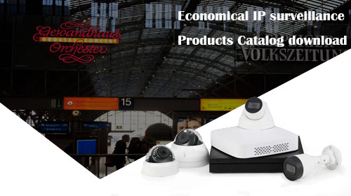 Economlcal IP camera products Catalog