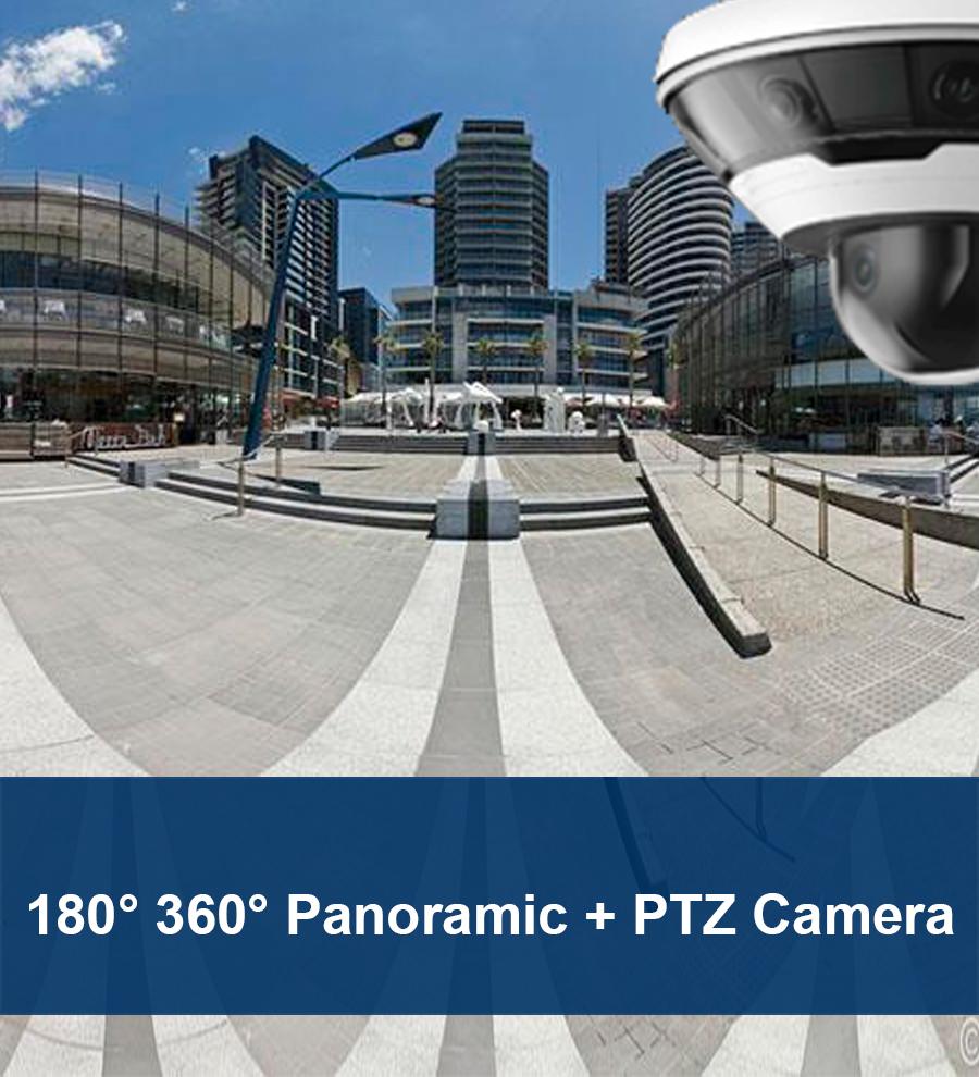 panoramic network camera