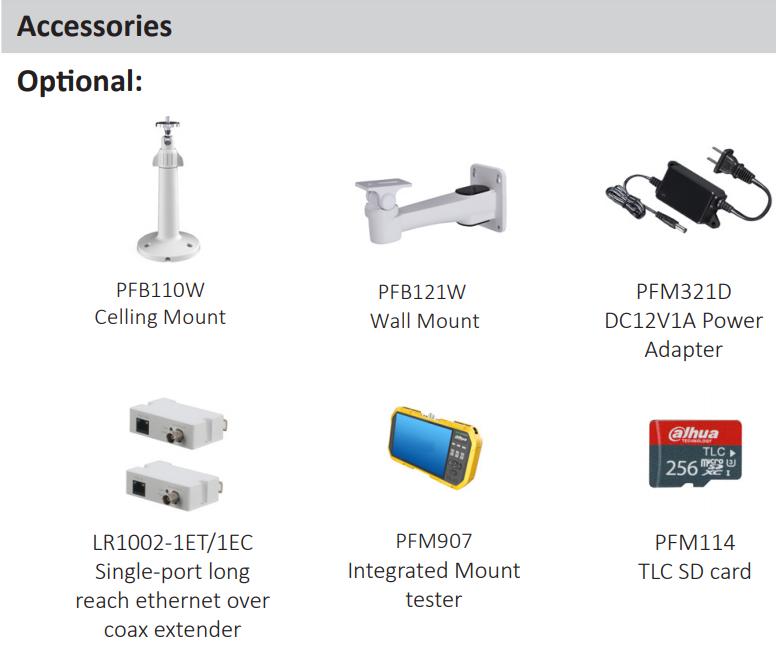 DAHUA DH-IPC-HFW3241M-AS-I2 IPC-HFW3541E-AS 5MP Lite AI IR Fixed focal