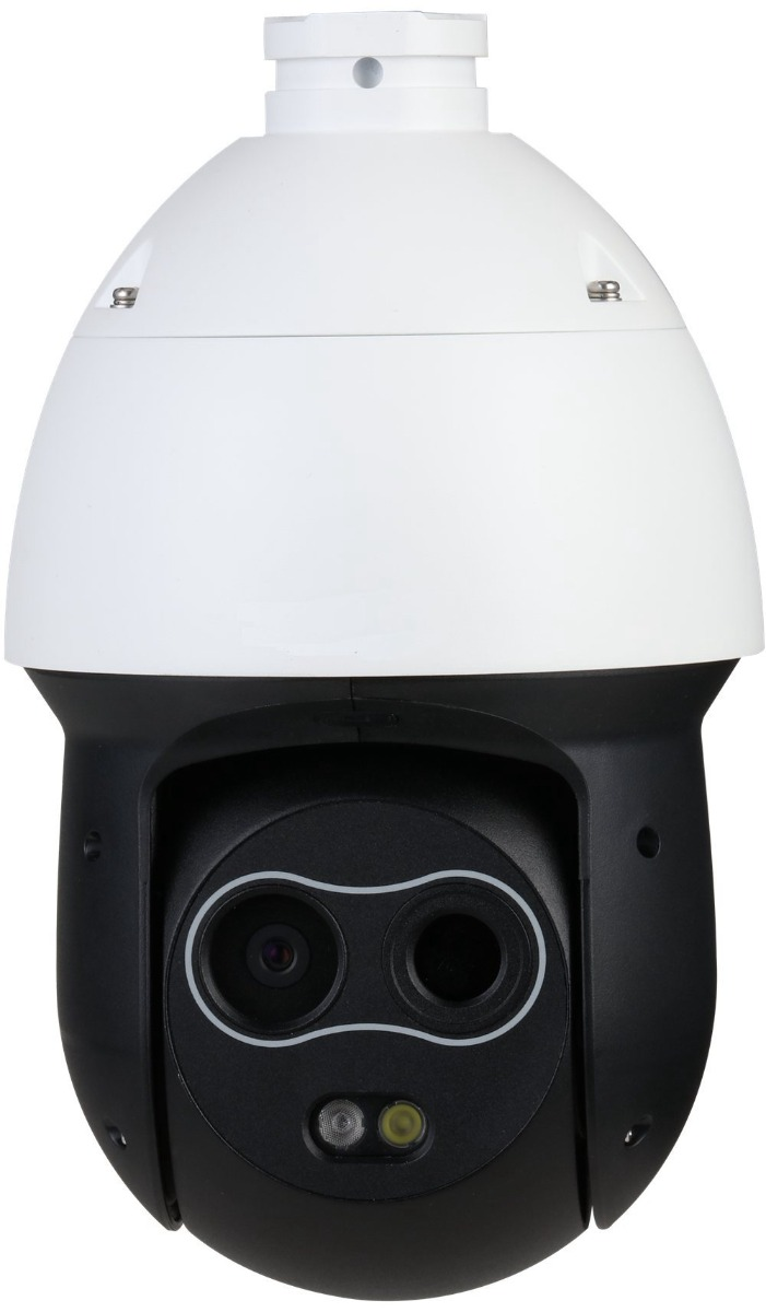 TPC-SD2221-T - DAHUA DH-TPC-SD2221-T Thermal Network Hybrid Speed Dome Camera DH-TPC-SD2221P-T Support temperature measurement,smoking detection Smart alarm linkage with white light & loudspeaker Fire detection & alarm DH-TPC-SD2221N-T