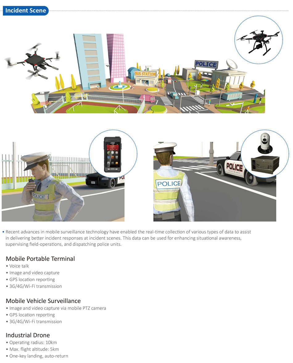 Recent advances in mobile surveillance technology have enabled the real-time collection of various types of data to assist