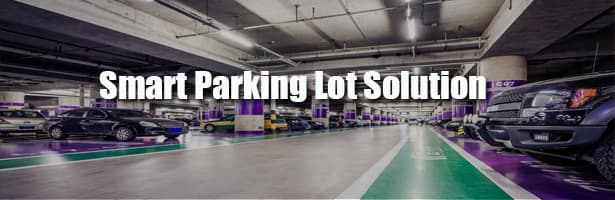 smart Parking lot solution