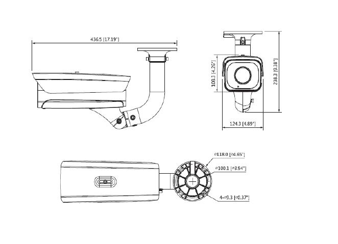 DAHUA DH-IPC-HFW8242E-Z4FD-IRA-LED